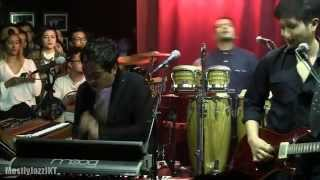 Maliq & D'essentials ft. Indra Lesmana - Heaven ~ Funk Flow @ Mostly Jazz 04/04/14 [HD]