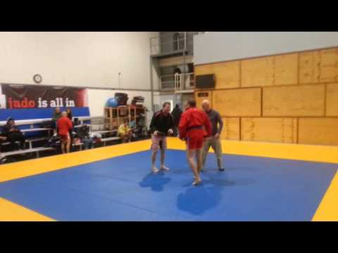Terry Sport Sambo match - rolling knee bar Image 1