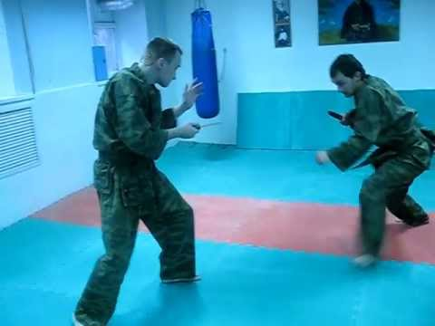 DrobyshevskyKarateSystem:SYSTEMA KNIFE FIGHTING TECHNIQUES-H4 Image 1
