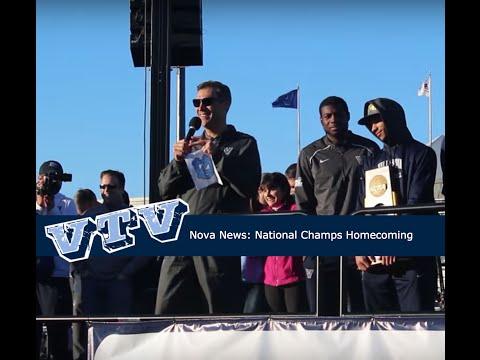 Nova News: NCAA Men's Basketball Champions Homecoming Highlights