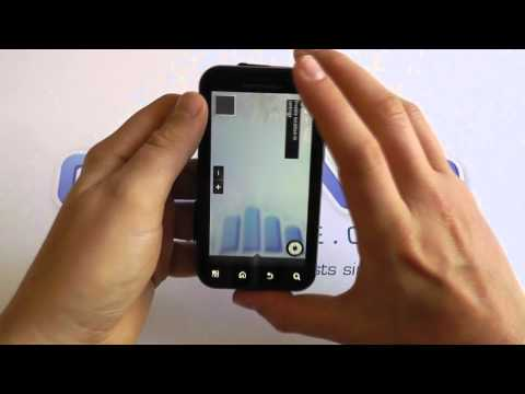 Motorola DEFY + (DEFY Plus) MB526 Android Smartphone Software Tour