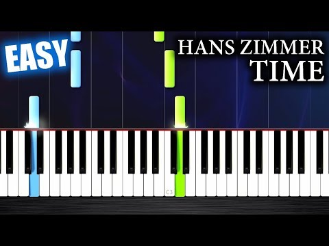Hans Zimmer - Time - EASY Piano Tutorial by PlutaX