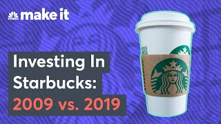What A $1,000 Investment In Starbucks 10 Years Ago Would Be Worth Now