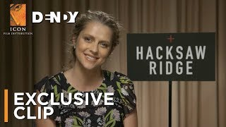 Hacksaw Ridge clip with Teresa Palmer - OUT NOW