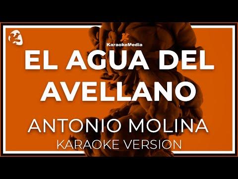Antonio Molina - El Agua Del Avellano (Karaoke)