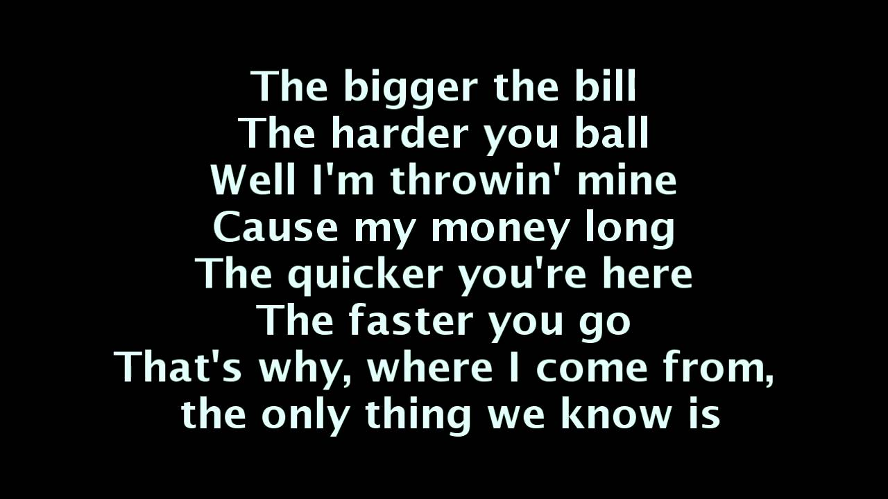 The work lyrics