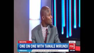 NBS Extra - One on One with Tamale Mirundi - 22 February, 2017