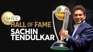 Sachin Tendulkar Enters The ICC Cricket Hall of Fame! | New Inductee