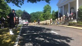 Sgt. Michael Chesna wake: Police file into St. Mary's church