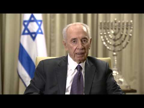 Peres, Nevruz konuşması