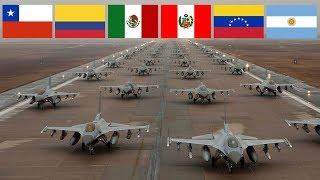 Las 10 Fuerzas Aereas mas Poderosas de Latinoamerica (2017)