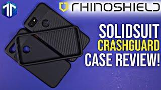 Google Pixel 3a XL Rhinoshield SolidSuit & CrashGuard Case Review!