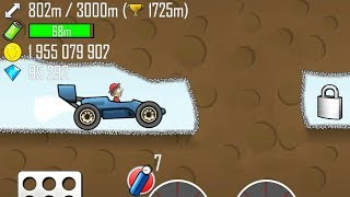 Hill Climb Racing - GARAGE Race Car in Cave 4210m GamePlay