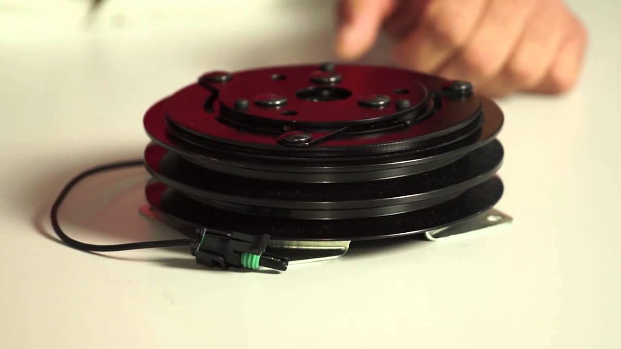 Embrague para compresor de aire acondicionado trp youtube for Compresor de aire acondicionado