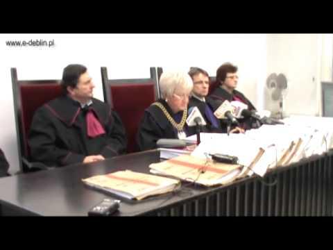 Skrót Wideo Z Ogłoszenia Wyroku W Sprawie Potrójnego Morderstwa W Dęblinie