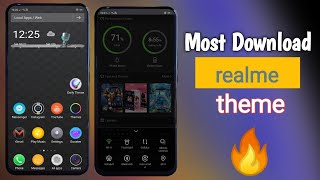 No 1 Theme for Realme | Most Awaited Features Available  | हिन्दी 💯