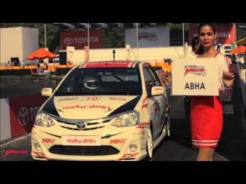 Etios Motor Racing - Exhibition Race 2, Gurgaon