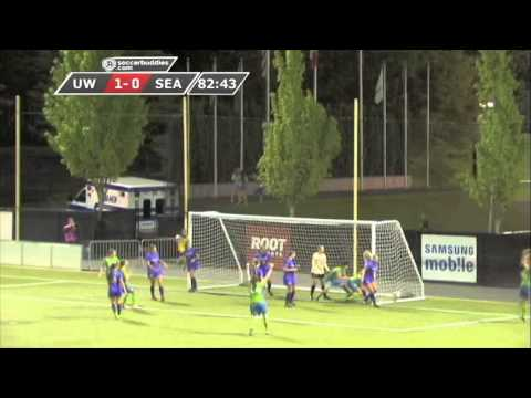 Sounders Women 2013 Match Recap: 5/10 vs University of Washington