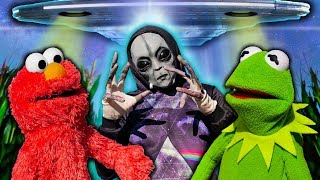 Kermit the Frog and Elmo Have Proof ALIENS ARE REAL!