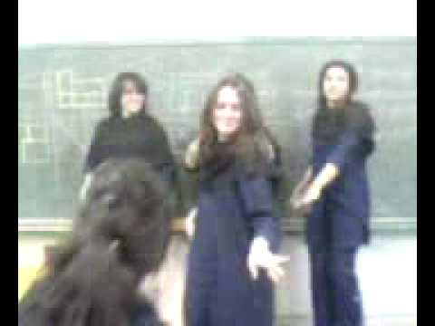 Kurdish Girl Slemany school