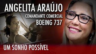 Angelita Araujo Comandante Boeing 737, um sonho realizado. # 32
