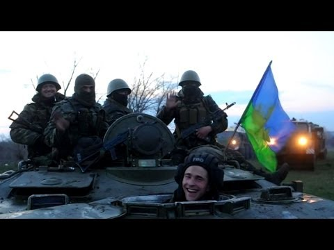 Ukraine Stages Military Drill in Donetsk