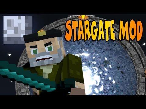 STARGATE MOD!! - Portales / Teletransporte!! MINECRAFT MOD REVIEW
