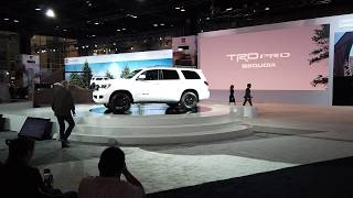 2020 Sequoia TRD Pro,  2020 Tacoma, 2020 RAV4 - Toyota Press Conference