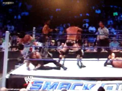 Undertaker,John Cena and DX vs Legacy,Randy Orton and CM Punk tag team match Video
