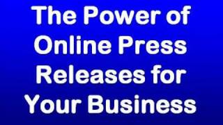 Power of Online Press Releases for Local Business