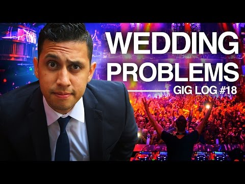 DJ GIG LOG: Wedding Problems | Unorganized & Unprepared | Tips & Tricks For DJ |  2 of 2