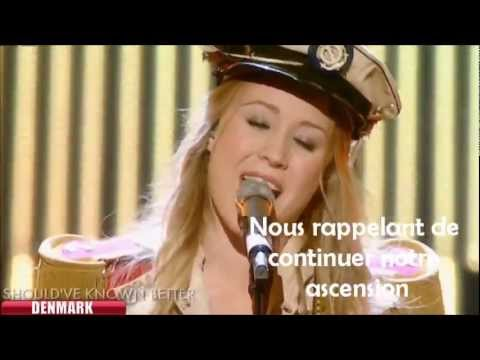 Esc Eurovision 2012 - Denmark - Soluna Samay - Should've Known Better [sous Titres En Français] video