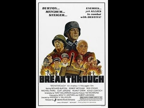 Breakthrough -1979- Richard Burton, Robert Mitchum (FULL MOVIE)