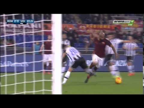 AS Roma vs Udinese 2015/2016 All Goals Highlights HD 3-1