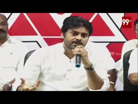 LIVE   JanaSena Party Press Meet   Vijayawada   Pawan Kalyan   99TV Telugu