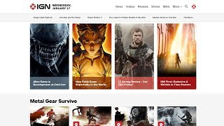 Meet the New IGN.com Homepage