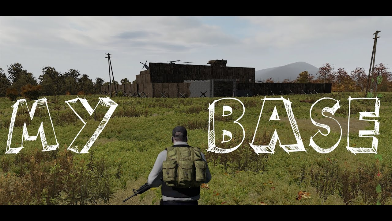 dayz how to build a base