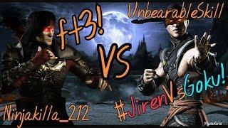 MKX - NinjaKilla_212 vs UnbearableSkill ft3 (Destroyer's Invitational Tournament)