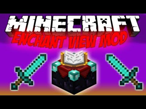 Minecraft Mods - Enchant View Mod 1.5.2: NO WASTE 30 LEVELS!