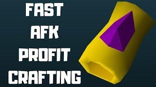 2M/HR+ & 200k+ XP/HR Crafting Money Making Method! RS3 2019