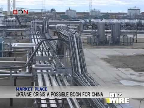 Ukraine crisis a possible boon for China - Biz Wire - March 27, 2014 - BONTV China