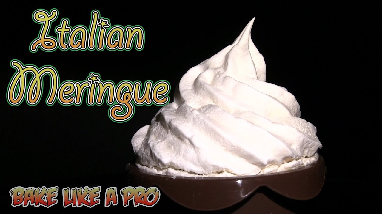 how to make the best italian meringue