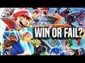 Smash Bros. Ultimate Switch - WIN OR FAIL? Our Reaction (New Characters, Stages, Gameplay)