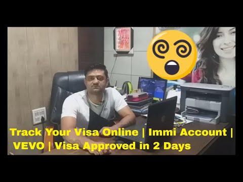 Track Your Visa Online/ Australia / Immi Account /VEVO/ Tourist Visa #Safal Pathak