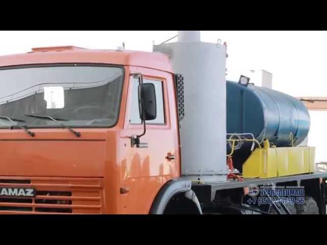 Передвижная парогенераторная установка ППУ 1600/100 на шасси КАМАЗ, ООО ХК Уралспецмаш