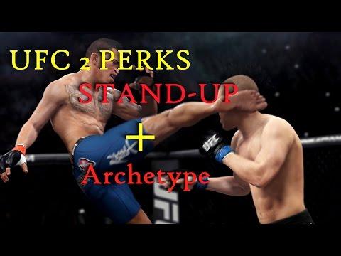 UFC 2 PERKS STAND-UP от Baltsevantonio (обучение,фишки,секреты,перки)