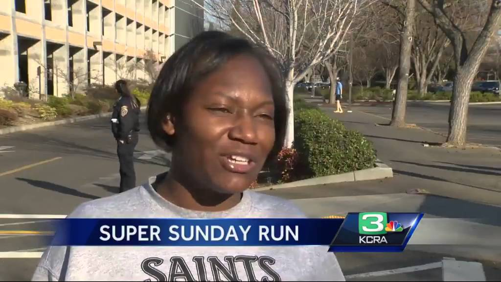 Perfect weather for runners participating in Super Sunday Run