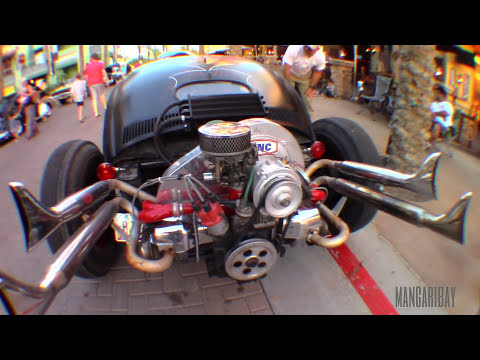 1967 Volkswagen Beetle Rat Rod Volks Rod Chopped