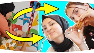NE ÇIKARSA AL DART Challenge!! Throwing Darts at a Map & BUYING Whatever it Lands On - Challenge!!!