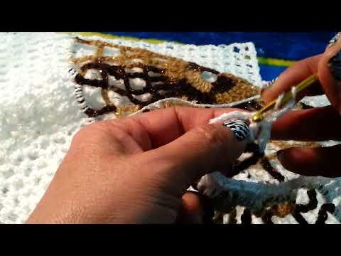 Chaleco Copo de Nieve a Crochet PARTE 2